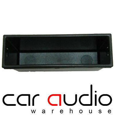 VW Volkswagen LUPO 1999 Car Stereo Pocket Tray Fascia Complete Fitting Kit BLACK