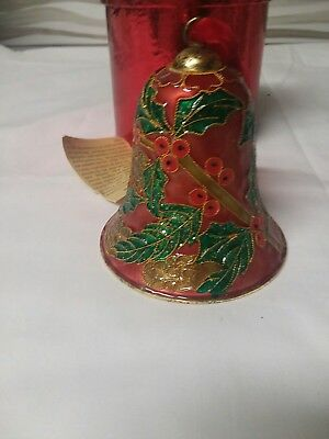 Holiday/Christmas Cloisonne Bell