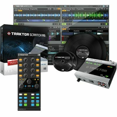 Native Instruments Traktor Scratch A6 Digital Vinyl System + Traktor Kontrol ...