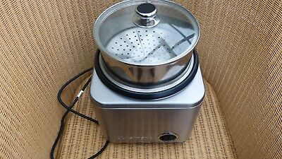 Cuisinart Cook And Steam  Cooker Model Crc8004