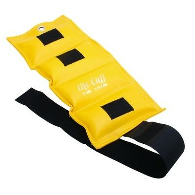 (3.2kg, Lemon) - the Cuff 10-2511 Deluxe Ankle and Wrist Weight 3.2kg. Lemon