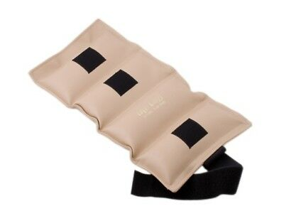 (6.8kg, Tan) - the Cuff 10-2517 Deluxe Ankle and Wrist Weight 6.8kg. Tan