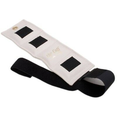 (0.9kg-white) - The Cuff Deluxe-Cuff Weight, White 0.9kg. Free Delivery