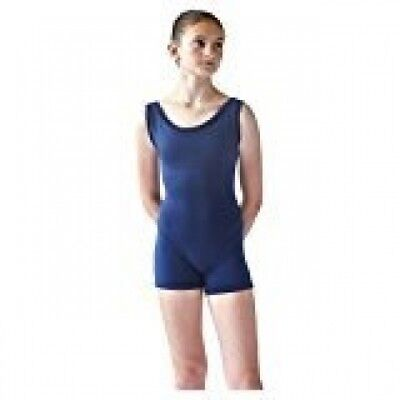 Steelcore Women's Short Unitard with Velvet Trim Large Midnight. Best Price