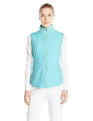 (Small, Quench) - Cutter & Buck Women's CB Weathertec Laura Hybrid Vest