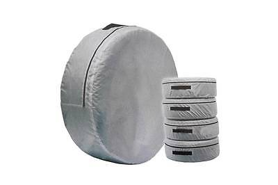 1 x Spare Wheel Storage Carry Tyre Bag Protection Cover Space Saver Grey New Bag