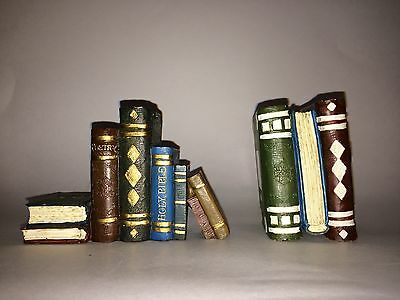 Home Interiors Gifts Book Club Editions Book Display Figurines 14511-98