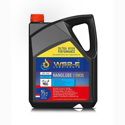 "Ws2-E Nanolube 5W30 *5 Liter Engine Oil -  ""the Ultimate Engine Oil"""