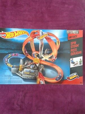 Hot Wheels Mattel - Mega-Crash Bahn mit Loopings,TopZustand