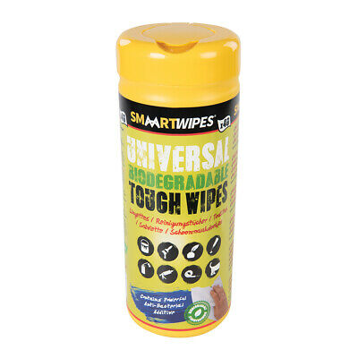 SMAART 922518 Universal Tough Wipes Biodegradable 40pk 40pk