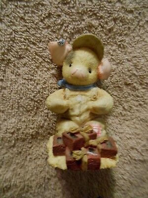 """1996 Enesco TLP 3"""" 'Stacked in our Favor' Figurine"""