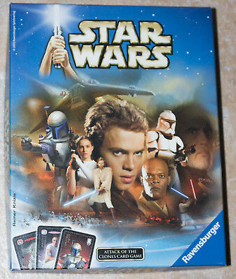Star Wars, Attack of the Clones, Card Game, Ravensburger