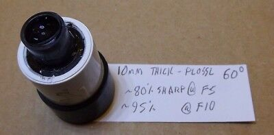 """10mm Thick Plossl, special wide 60-degree field, """"1.25"""" size"""