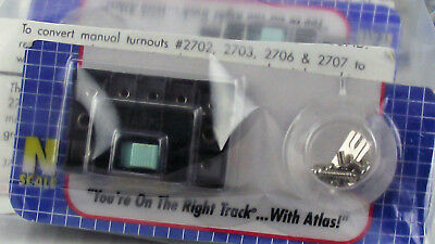 Atlas 12 Pack N Scale Switch Turnout Control Box HO/N # 56 Twin Coil Turnouts