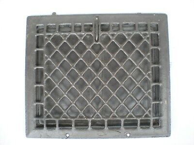 "Vintage Metal Wall Heat Grate Register Vent 12&1/2"" x14&1/2 cold air return"