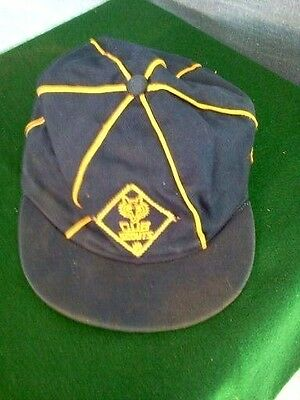 Vintage Cub Scout Cap from the 1950's size Boy's Medium