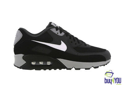 Nike Air Max 90 Essential Black White 314210819604 Sneakers Uomo Donna Shoes