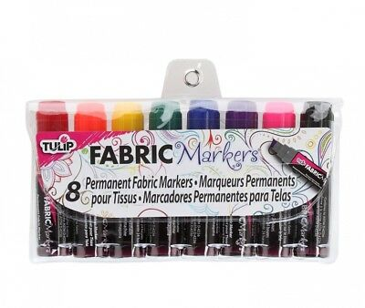 Tulip Fabric Markers Mini Fat 8 Pack. Shipping is Free