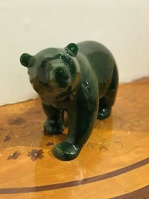 Green Jade Polar Bear? Possibly Russian Stone