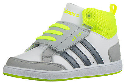 Adidas Neo Children's Adidas Hoops Infant Boys Kids Baby Trainers Hook and Loop
