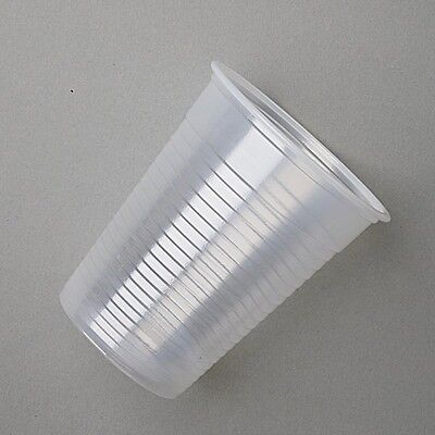 Clear Plastic 7oz Disposable Cups 200ml Drinking Glass Vending Style Cup 180cc