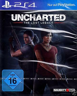 Uncharted - The Lost Legacy PS4 / PS4 PRO NEU