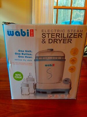 Wabi Baby Electric Steam Sterilizer and Dryer with box