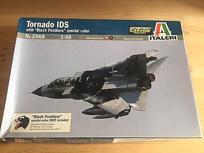 "Italeri #2668 -  Tornado Ids ""black Panthers"" - 1/48"