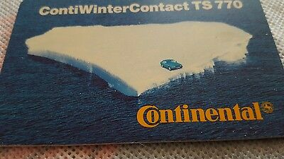 Continental Winter Contact TS 770    6,- DM Telefonkarte