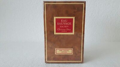 Christian Dior Eau Sauvage for men. Pre - shave Lotion 100 ml.