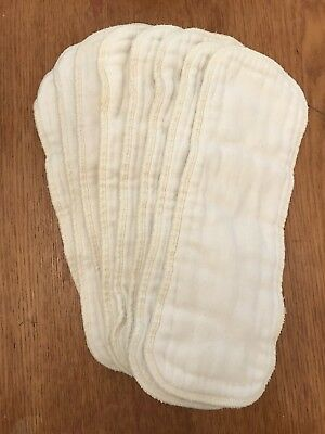 Cloth Diaper Inserts- Lot Of 8