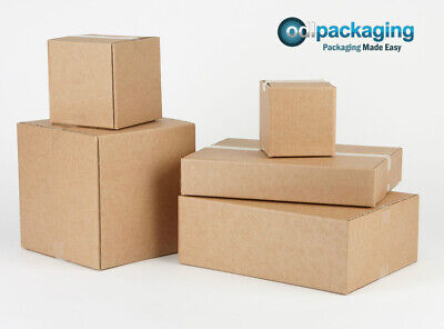 Strong Single Wall Cardboard Cartons/Boxes - All Sizes