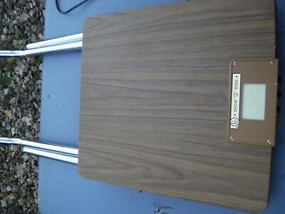 Vintage  Show King Folding Projector Table w/ Auxiliary Outlets