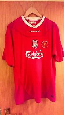 mens Liverpool fc worthington cup winners shirt