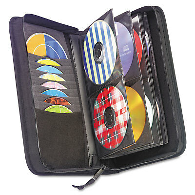 Case Logic CD/DVD Wallet Holds 72 Disks Black CDW64