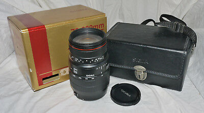 Sigma 70-300mm f4-5.6 II APO Macro Super AF Lens For Canon EOS EF