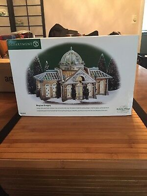 Dept 56 Dickens Village Margrove Orangery #58440 Lighted; Very Good Condition