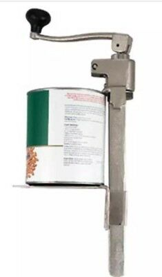 New Commercial Can Opener #10 Restaurant Equip Adjustable Counter Mount Alegacy