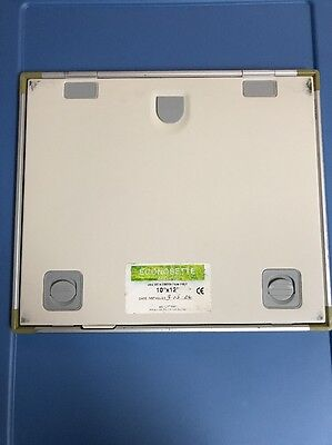"Econosette Green 400 10""x12"" X Ray Intensifying screens I.D. Position"