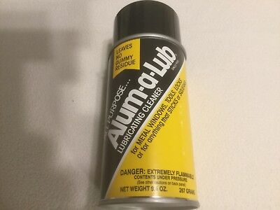 Alum-a-Lub Brand ALL Purpose Aluminum Lubricating Cleaner Spray 9.4 OZ. - Lube