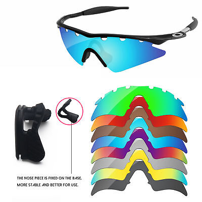 e3d6030964 Nose Piece + Polarized Replacement Lenses For-Oakley M Frame Sweep  Vented-Option