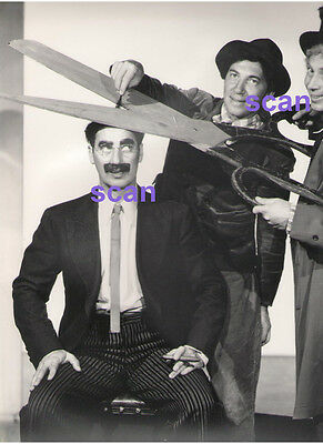 Harpo Groucho Chico Marx Brothers Original Vintage 11X14 Apger ? Promo Photo A