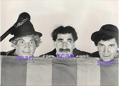 Harpo Groucho Chico Marx Brothers At The Circus 1939 Vintage 11X14 Photo