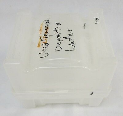 "Plastic Shipping/Storage Case/Box for 25 Count 6"" 150mm Silicon Glass Wafer"