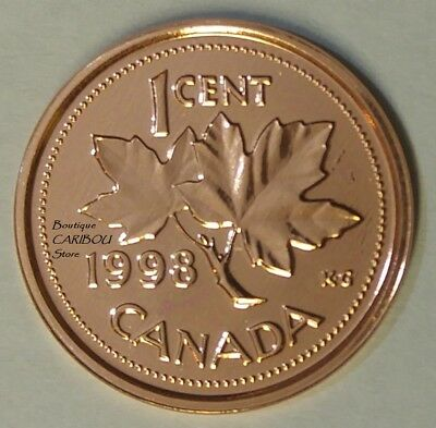 1998 Canada Proof-Like 1 Cent