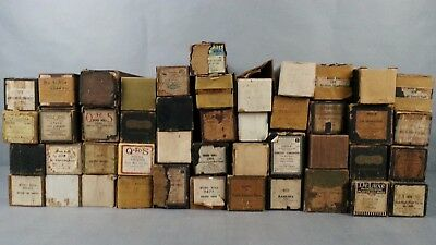 Lot Of 45 Vintage Player Piano Roll Various including Some QRS