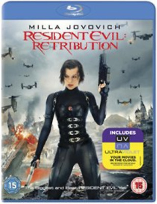 Milla Jovovich, Sienna Guil...-Resident Evil: Retribution  Blu-ray NUOVO