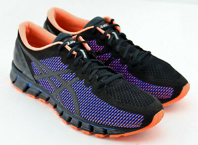 meilleur site web 3c25e c15ad MENS ASICS GEL Quantum 360 Cm Running Shoes Size 11 Black Blue Orange T6G1N