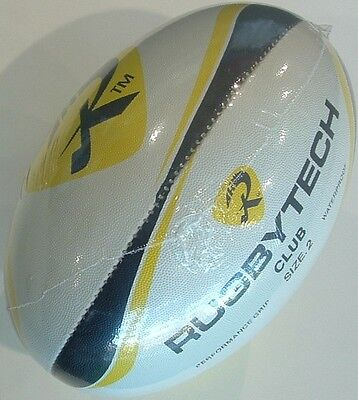 Rugbytech Club Rugby Union Ball Size 2 *new*