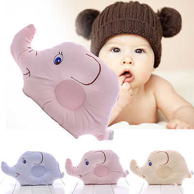 Cartoon Elephant Baby Shaping Sleep Pillow Soft Neck Head Support Health Care